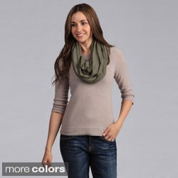 Saro Women's Infinity Design Jersey Scarf