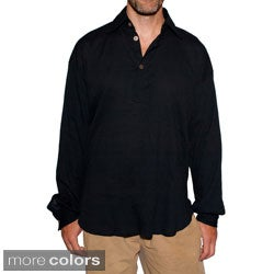 Men's Classic Crisp Cotton Shirt (Nepal)