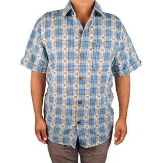 Eco Deep Blue Sea Shirt (Nepal)