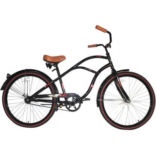 Airwalk Cruiser Cardiff Black 26-inch Bicycle