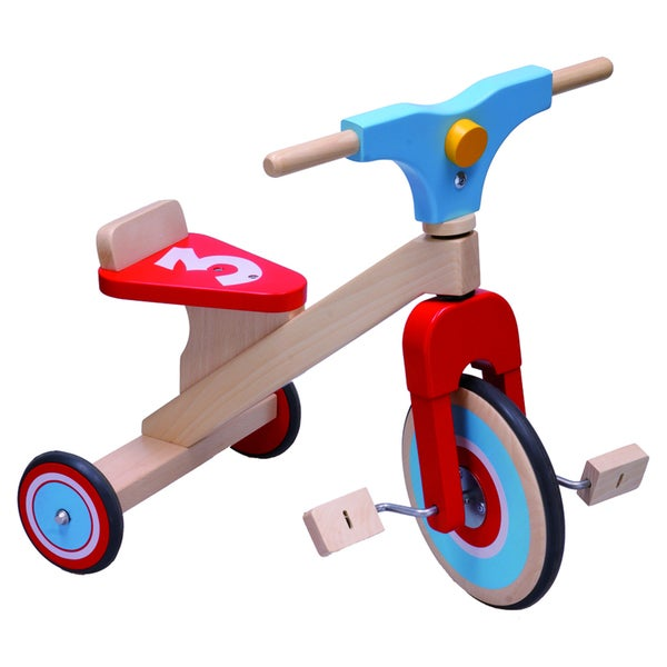 Dushi 3 Wheel Wooden Bike