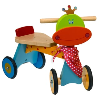 Dushi 4 Wheel Wooden Walking Bike