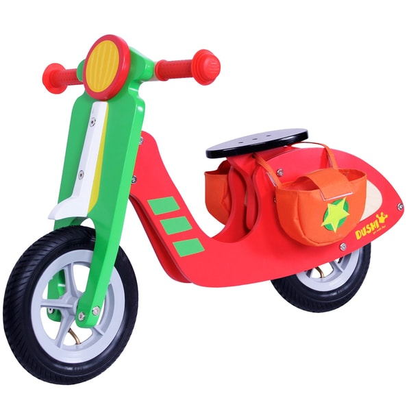 Dushi 2 Wheel Wooden Walking Boys Scooter