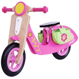 Dushi 2 Wheel Wooden Walking Girls' Scooter