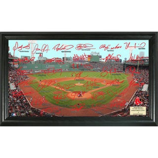 Highland Mint MLB Boston Red Sox Signature Field Frame