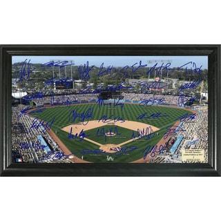 Highland Mint MLB Los Angeles Dodgers Signature Field Frame