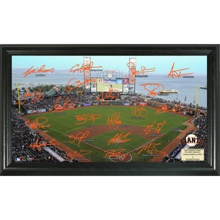 Highland Mint MLB San Francisco Giants Signature Field Frame