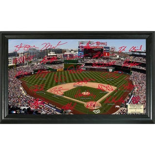Highland Mint MLB Washington Nationals Signature Field Frame