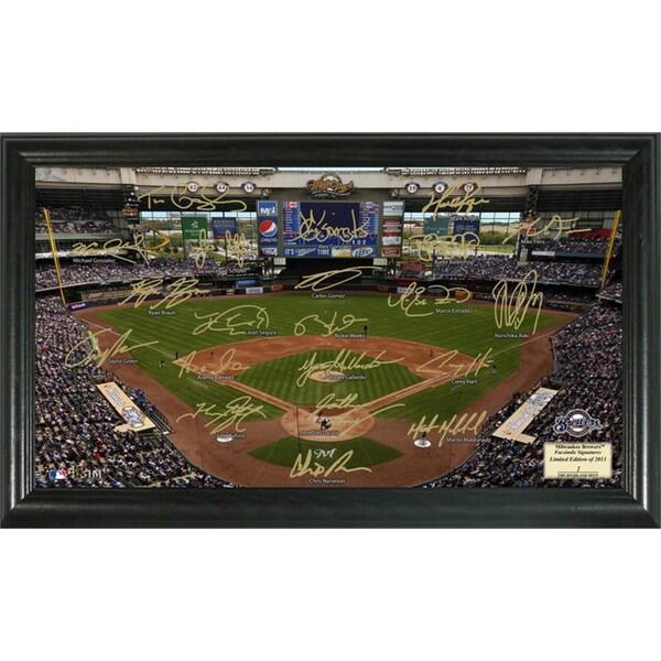 Milwaukee Brewers Signature Field Portrait