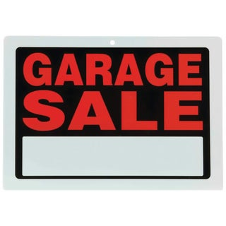 Maxam 10 Piece Garage Sale Sign Set