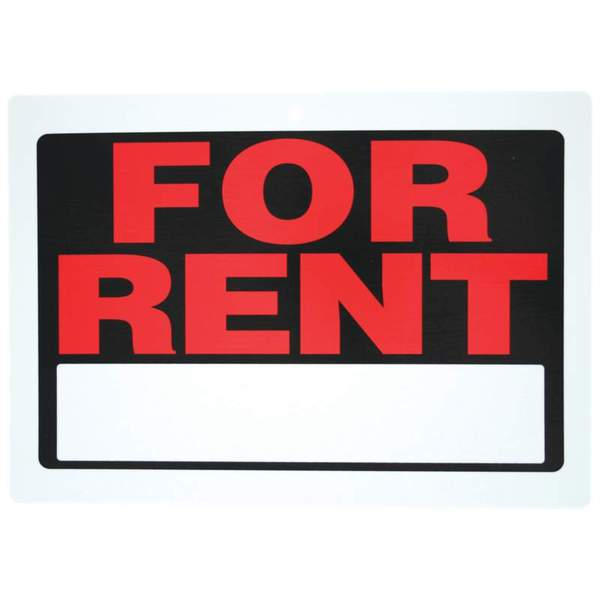 Maxam 10 Piece For Rent Sign Set