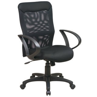 Office Star Products Work Smart Built-In Lumbar Support Chair