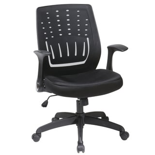Office Star Products Work Smart Black Chair