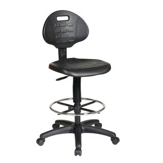 Office Star Products Work Smart Urethane Armless Drafting Chair