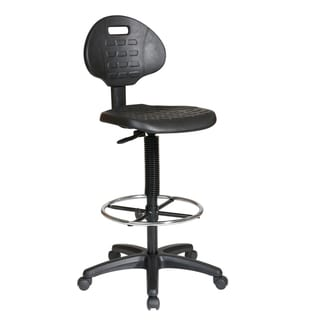 Office Star Products Work Smart Urethane Armless Standard Drafting Chair