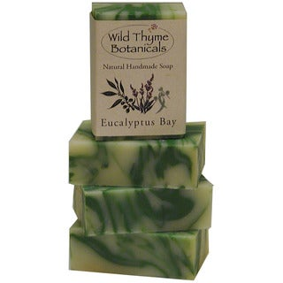 Eucalyptus Bay Natural Handmade Soap Trio