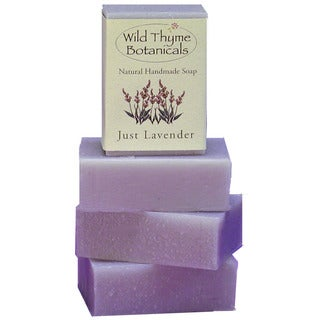 Just Lavender Natural Handmade Soap Trio