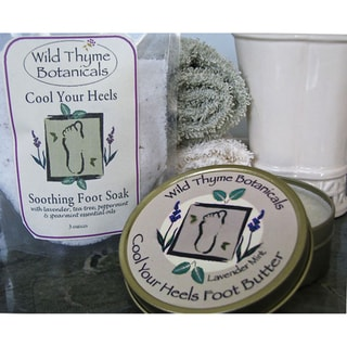 'Cool Your Heels' Foot Soak and Foot Butter Set