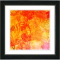 Studio Works Modern 'Orange Liana' Framed Print