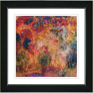 Studio Works Modern 'Reverie - Red' Framed Print