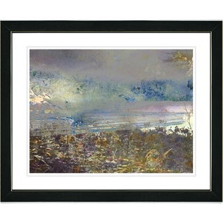 Studio Works Modern 'Sea Shore' Framed Print