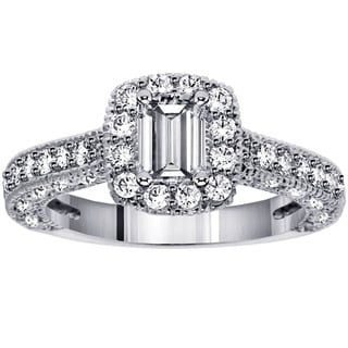 14k White Gold 1 7/8ct TDW Diamond Engagement Ring (F-G, SI1-SI2)