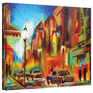 Susi Franco 'Twilight in Treviso' Gallery-wrapped Canvas