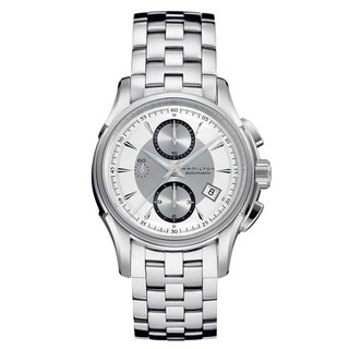 Hamilton Men's 'Jazzmaster Auto Chrono' Silvertone Watch