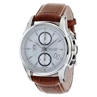 Hamilton Men's 'Jazzmaster Auto Chrono' H32616553 Watch