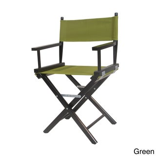 Black Frame 37-inch Director's Chair