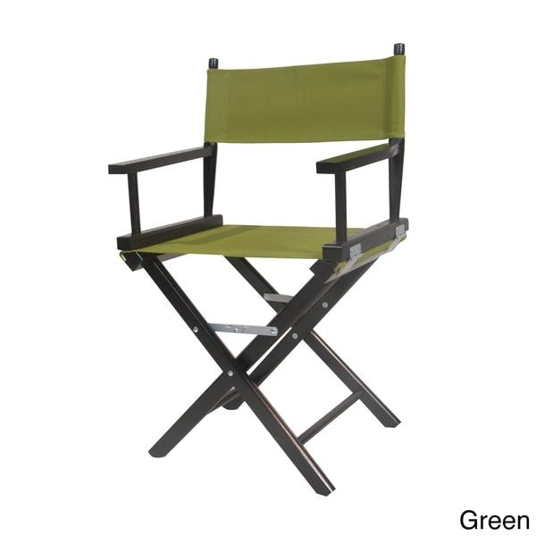 WYNDENHALL Black Frame 37-inch Director's Chair