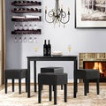 Joyce Black 5-piece Dining Set