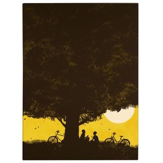 Budi Satria Kwan 'Under Giant Oak Tree' Canvas Art