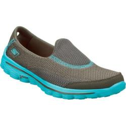 Women's Skechers GOwalk 2 Illumination Gray/Blue
