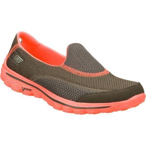 Women's Skechers GOwalk 2 Illumination Gray/Pink