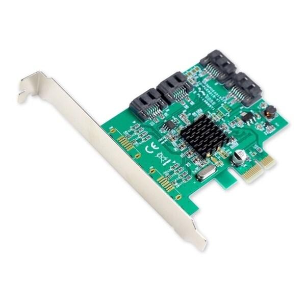 SYBA Multimedia SATA III 4-port PCI-e Controller Card, with Full and 11070377