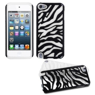 BasAcc Black Zebra Hybrid Case for Apple iPod Touch 5th Generation