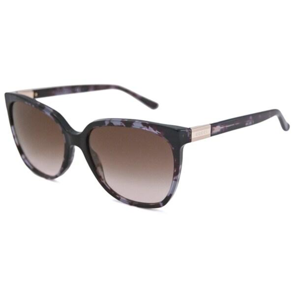 Gucci Women's GG3502 Rectangular Sunglasses