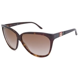 Gucci Women's GG3539 Cat-Eye Sunglasses