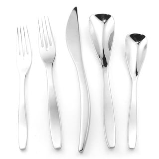 Splendide 'Isla' 45-piece Stainless Steel Flatware Set