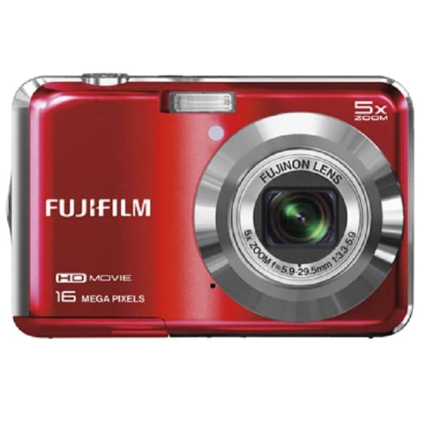 Fujifilm FinePix JX650 16MP Red Digital Camera