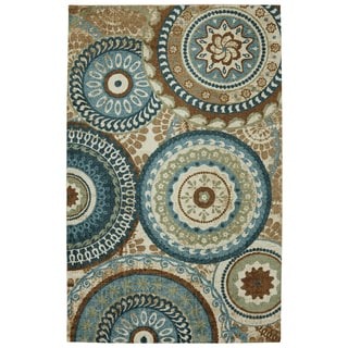 Forest Rings Multi Rug (5' x 8')
