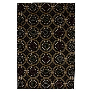 Overlapping Circles Rug (8' x 10')
