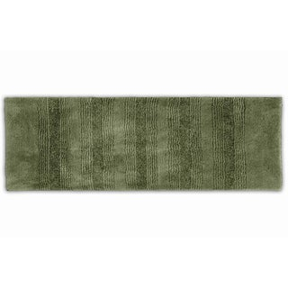 Somette Westport Stripe Beach Grass Washable 22 x 60 Bath Runner