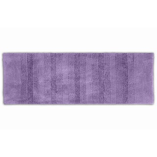 Westport Stripe Periwinkle Washable Bath Runner