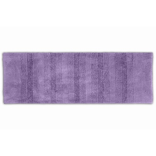 Somette Westport Stripe Periwinkle 22 x 60 Washable Bath Runner