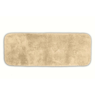Posh Plush Ecru Washable Bath Rug