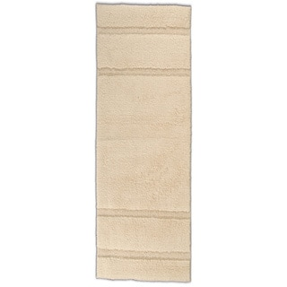 Somette Tranquility Cotton Natural 22 x 60 Bath Runner