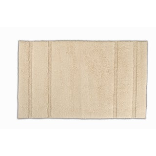Somette Tranquility Cotton Natural 24 x 40 Bath Mat