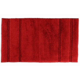 Tranquility Cotton Chili Pepper Red Bath Rug